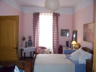 One of the 7 rooms of the B&B in Languedoc-Roussillon