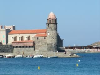 Collioure Lighthouse in Roussillon France